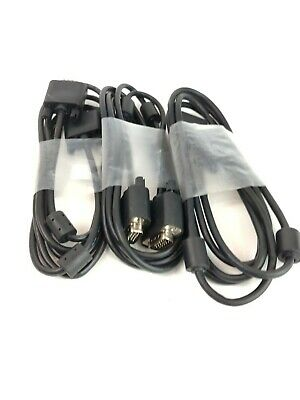 Video Cable VGA Cable 6/' HD 15-pin Male-Male Monitor Cable Dell 5KL2H06509HT1739