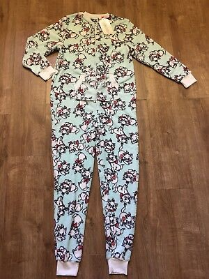 BNWT Aristocat Marie Cat Primark Soft all in one Pyjamas PJs Ladies XS 6-8