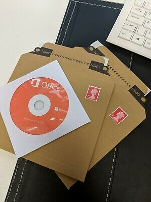 Microsoft Office 2019 Professional Plus - CD/Disc & License Key - FREE POSTAGE