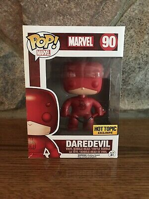 Funko Pop! Marvel Red Daredevil #90 Hot Topic Exclusive