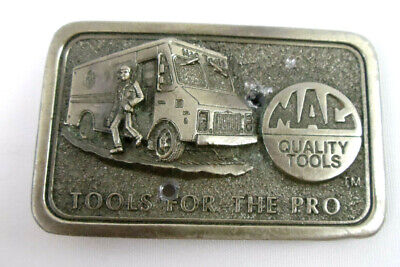 MAC Tools For The Pro Belt Buckle *READ*