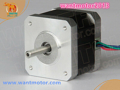 Germany Free! 1PC Nema17 Stepper Motor 42BYGHW804 1.2A 4800g.cm 48mm  2Ph 4lead