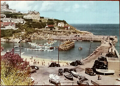 Newquay, The Harbour and Mainland.  Jarrold & Sons Ltd. Giant Postcard