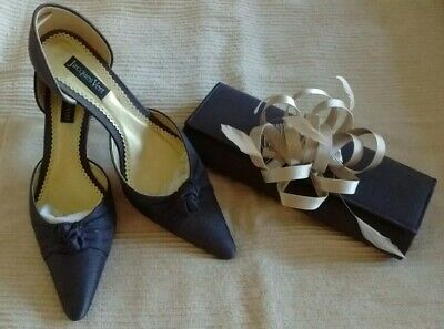 bfc1dddea44ec Beautiful JACQUES VERT Coco shantung shoes (size 7.5/41) handbag and  fascinator