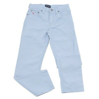 9111T jeans bimbo RALPH LAUREN blu pantalone jeans cotton light blue kid boy