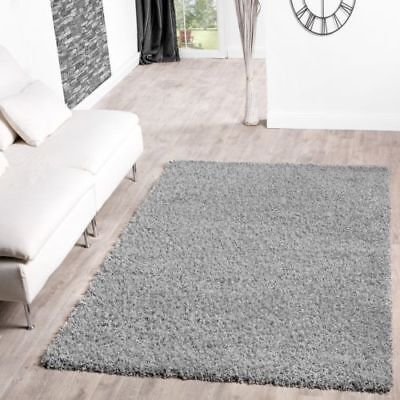 Small and XLarge Size Thick Plain Soft Shaggy Living Room Rug Bedroom Floor Rugs