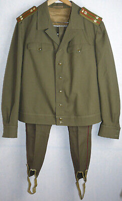 Officer Uniform Daily Jacket Tunic Pants  Galliffet Large Size Soviet Army USSR