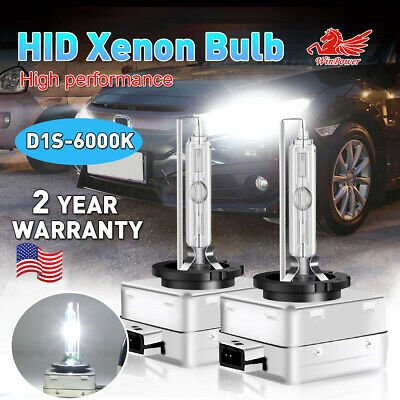 2x 35W D1S D1R D1C Xenon HID Headlight Bulbs 6000K White 66140 66144 85410 85415