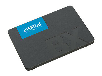 Crucial BX500 480GB Solid State Drive Internal SSD SATA III 2.5'' 6Gb/s 3D NAND