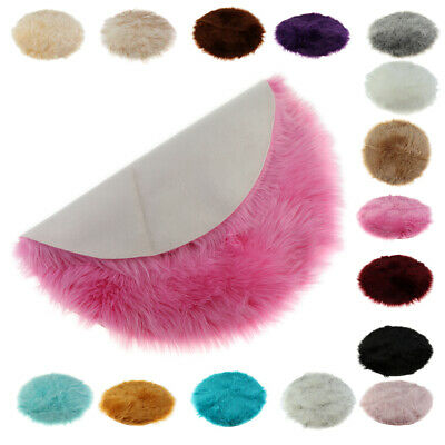 Round Fluffy Soft Area Rugs for Kids Room Children Room Girls Room Nursery