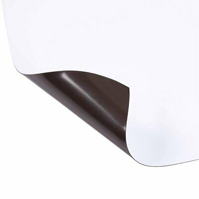 2 PCs Rubber Magnet Self Adhesive Flexible Magnetic Sheet A4 Size 0.6mm