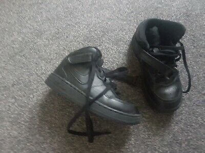 Junior Nike air force 1 boots size 11.5