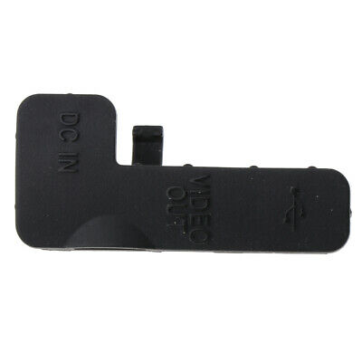 USB DC IN Video Out Premium Rubber Cover Lid Door Bottom Cap for Nikon D50