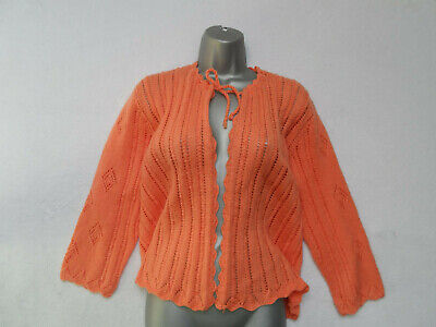 Vintage Hand Knitted Bed Jacket (Cardigan?)