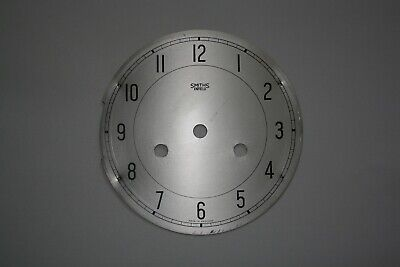 "Vintage 6"" Smiths Enfield full striking clock face/dial for parts/spares/repairs"
