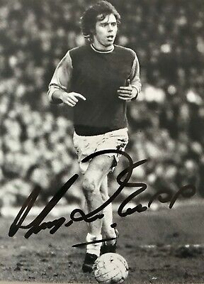 Harry Redknapp HAND SIGNED West Ham & I'm A Celebrity 8x6 Photograph *In Person*