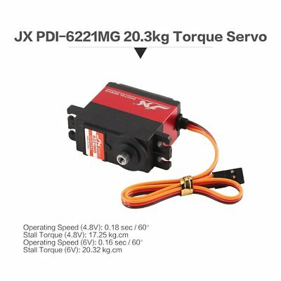 Digital Servo JX PDI-6221MG 20 KG Aluminium Metalgetriebe für 1/10 1/8 RC AutoB4