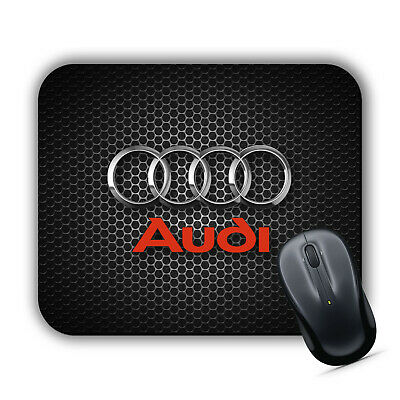 AUDI Logo RS S Line Sports Car Inspired Computer MOUSE MAT Pad PC Laptop MacBook