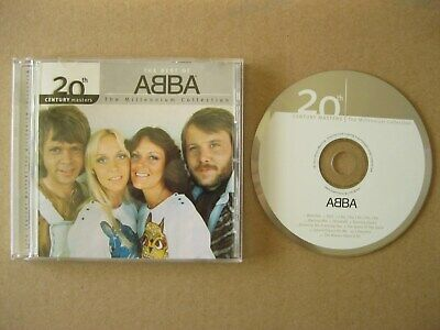 Best of ABBA CD [2000] 20th Century Masters The Millennium Collection EX+