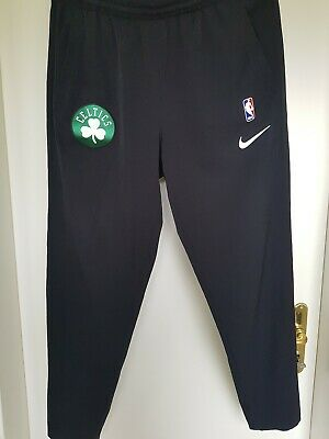 AUTHENTIC NIKE NBA Boston Celtics Hose Trainingshose Pants, Schwarz, Gr. L