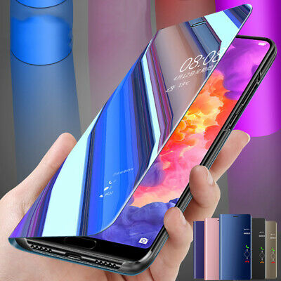 Flip View Intelligent Mirror Coque Housse Etui Pr Huawei P Smart 2019 360° Cover