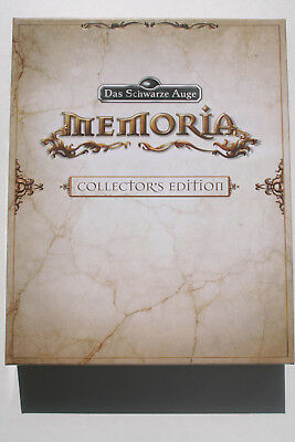 The Dark Eye Das Schwarze Auge Memoria Collectors Edition PC Like New and CIB