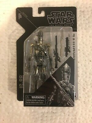 """Star Wars The Black Series Archive 6"""" IG-88 Action Figure - New On Card"""