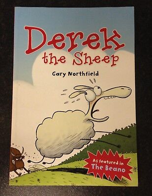Derek The Sheep Paperback Book by Gary Northfield as featured in the Beano Comic