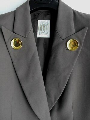 Studio 0001 By Ferre' Vintage Jacket Giacca Donna Taglia Size 42 Made In Italy