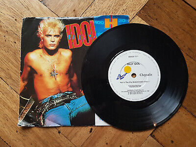 """BILLY IDOL - HOT IN THE CITY 7"""" vinyl record"""
