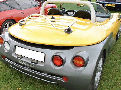 Renault Sport Spider Luggage Rack ; No Clamps = No Damage