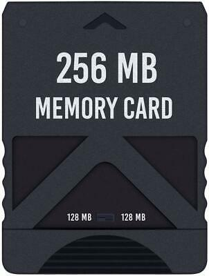 Hde Memory Card For Ps2 256Mb High Speed Storage For Sony Playstation 2 Consoles