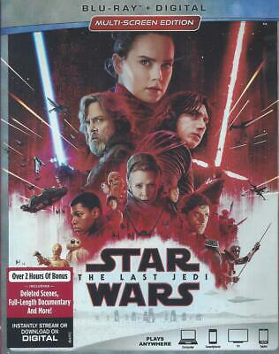 Star Wars The Last Jedi (Bluray/Digital Code)(2 Disc Set)(Used)