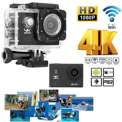 """HD 4K WIFI Sports Action 2.0"""" Camera Waterproof DV Camcorder 16MP Cam Lot &H"""