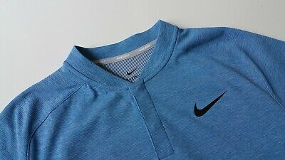 0c37011c7 New Nike AeroReact Momentum Slim Golf Blade Polo Shirt