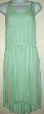Dresses Old Navy Girls Dress Size Xxl 16 Sea Green High Low Jersey Knit Spring Summer Girls' Clothing (sizes 4 & Up)