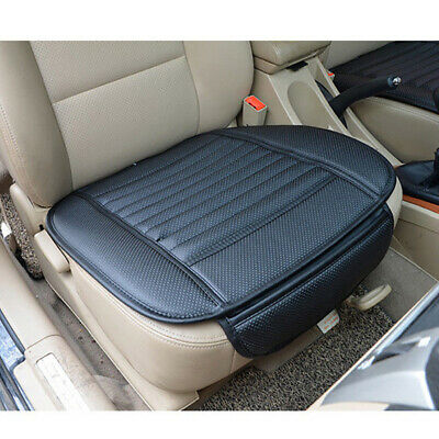 Universal PU Leather Breathable Bamboo Car Seat Cover Pad Mat Auto Chair Cushion