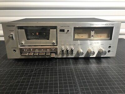Toshiba Stereo Cassette Deck Player Model PC-3460