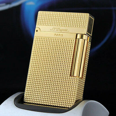 Lighter New gold color S.T Memorial lighter Bright Sound ! free shipping