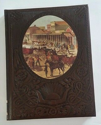 Vintage Time Life Books Leatherette The Old West Series The Townsmen Hardcover
