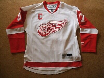 Detroit Red Wings Jersey Reebok NHL Official Jersey Small Captain Billingham