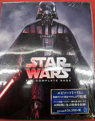 No Brand Fxxe-51416 Star Wars Complete Saga Blu-Ray Collection First Edition