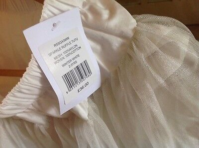the little white company sparkly tutu nwt 2-3years