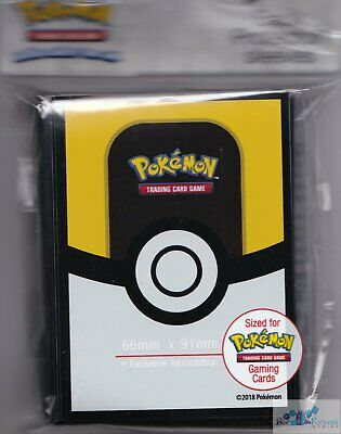 Ultra Ball Trainer POKEMON TCG ULTRA PRO DECK PROTECTOR CARD SLEEVES