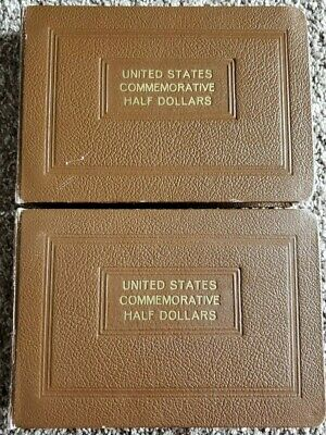 Publications & Supplies Set Of Two Wayte Raymond Commemorative Half Dollars National Coin Albums. Albums & Folders