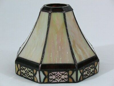 Art & Craft Style Stained Glass Light Shade Ceiling Fan Chandelier Wall