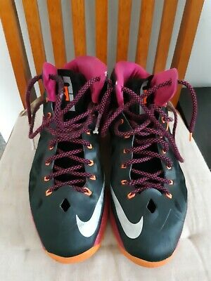 various colors 2a6db fe4e1 Nike LeBron 10 Floridian size 13 preowned black fire berry