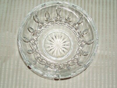 NEW Waterford IRISH Crystal LISMORE Small heavy condiment whipped cream bowl A++