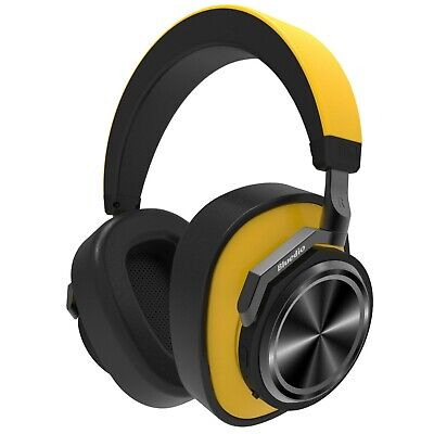Bluedio T6s Bluetooth 5.0 Cordless Headphones HiFi Sound Wireless ANC Headset