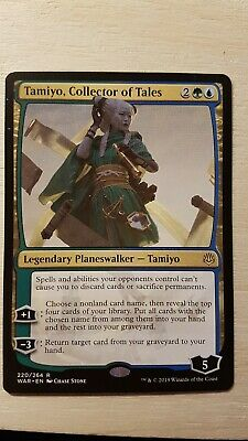 Tamiyo, Collector of Tales -NM-  War of the Spark Gold Rare